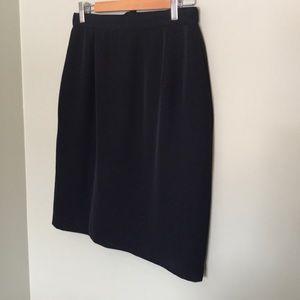 INGENUITY classic black pencil skirt
